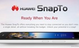 Huawei представила SnapTo с Snapdragon 400 стоимостью $180