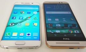 HTC One M9 vs Samsung Galaxy S6 — чей дисплей лучше ?