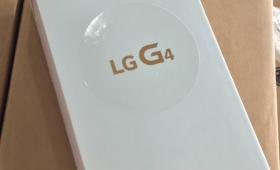 LG G4 — характеристики из коробки