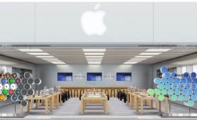 Для презентации Apple Watch в магазинах будут установлены «живые» витрины