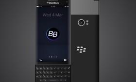 Новый слайдер BlackBerry Venice