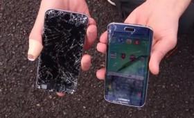 Краш тест iPhone 6 и Galaxy S6 Edge