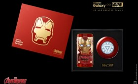 Samsung Galaxy S6 Edge Iron Man limited edition на видео