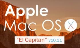 Mac OS X El Capitan — более 30 нововведений