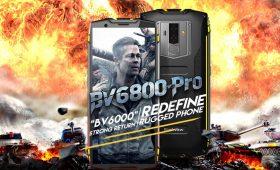 Новый защищенный и противоударный смартфон Blackview BV9600 Plus